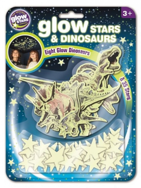 Brainstorm Glow Stars and Dinosaurs